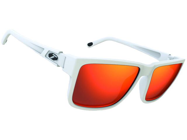 Tifosi Hagen XL Glasses matte white - smoke red
